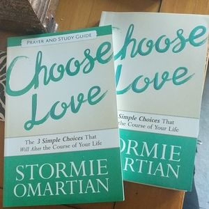 Choose Love Book with Prayer and Study Guide